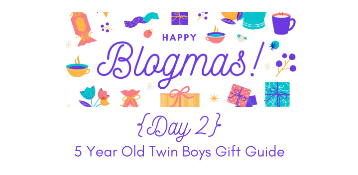 5 Year Old Twin Boys Gift Guide | 12 Days of Blogmas {Day 2}