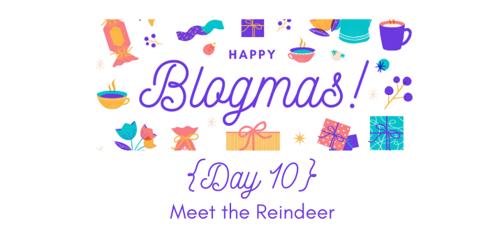 Meet the Reindeer | 12 Days of Blogmas {Day 10}